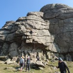 Climbing and navigating Dartmoor